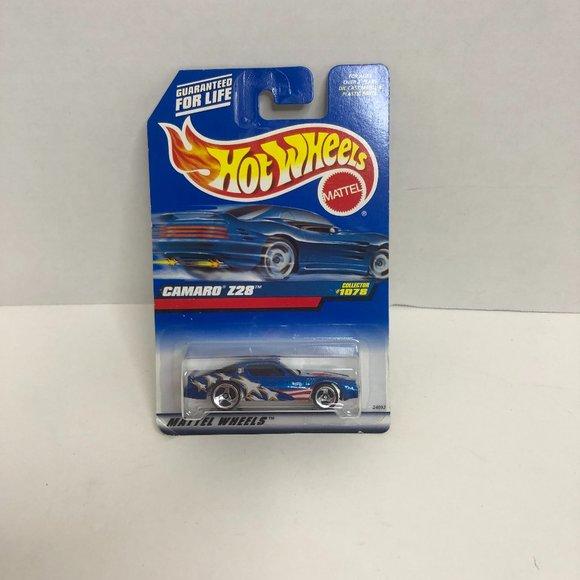 Hot Wheels Camaro Z2S Toy Car Mattel